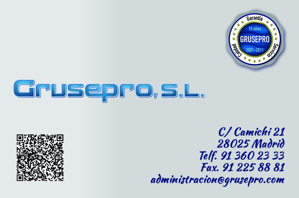 Anverso tarjeta Grusepro_04_Hz